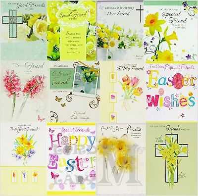 Friend / Friends Easter Card - Various Designs Available