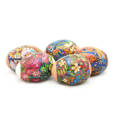 NEW Russian Easter Egg Shrinking Wraps/Sleeve Egg Stickers Flower Pictures