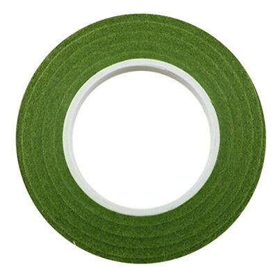 Blesiya 12pcs 30m Florist Floral Tape Wedding Bouquet Stem Wrap Olive Green
