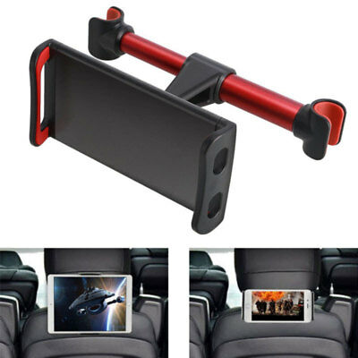 Headrest Car Seat Holder Mount 360º Rotating For Phone iPad Tablets Stand New