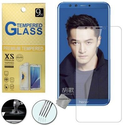Film de protection vitre verre trempe transparent pour Huawei Honor 9 Lite