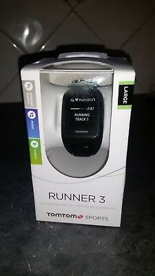 TomTom Runner 3 Cardio + Music GPS Fitness Sports Watch & Activity Tracker LARGE