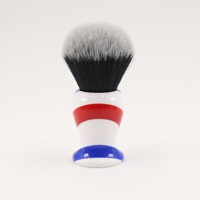 Yaqi 30MM Synthetic Shaving Brush Monster Barber Pole High Quality Bristles