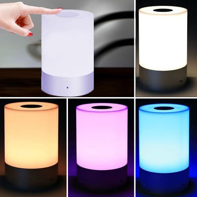 dimmable bedside lamp bluetooth albrillo dimmable bedside lamp with touch sensor and color changing modes albrillo dimmable bedside
