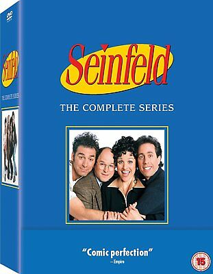 Seinfeld - The Complete Series [DVD] New UNSEALED MINOR BOX WEAR