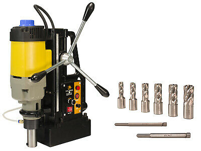 Steel Dragon Tools® MD50 Magnetic Drill Press with HSS Annular Cutters