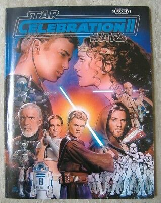 Star Wars Celebration 2 official Souvenir Book, (2002)