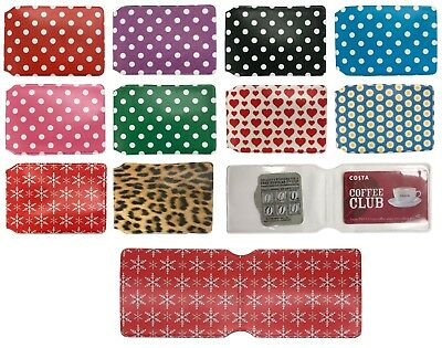 Oyster Card Holder Wallets for Train Tickets + Bus Pass Membership Cards