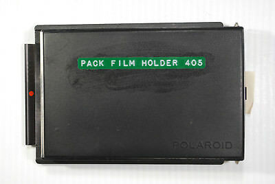 Polaroid Film Back 405 includes expired loaded 75 P/N Film