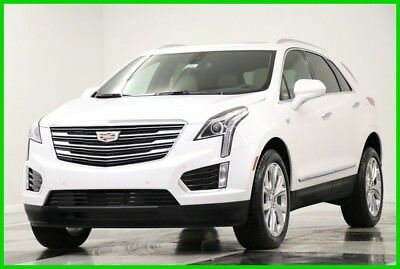 Cadillac XT5 XT5 MSRP$55710 AWD Luxury Sunroof GPS White New SRX4 Heated Cooled Leather Navigation Camera CUE Bluetooth 17 2017 18 Bose