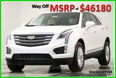 2018 Cadillac XT5 XT5 MSRP$46180 AWD GPS Leather Crystal White New Navigation Heated Seats Camera Bluetooth CUE SRX4 4WD 17 2017 18 Keyless