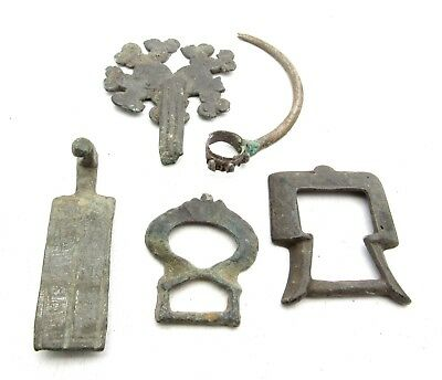 Lot Of  Medieval / Ancient Roman Bronze Artifacts  - Ancient Historic - C190