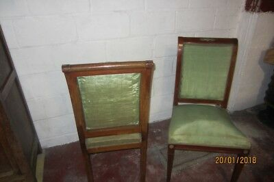 2 Chaises Style Empire