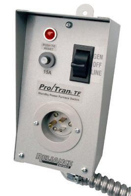 Reliance Controls Corporation TF151W Easy/Tran Transfer Switch for Generators...