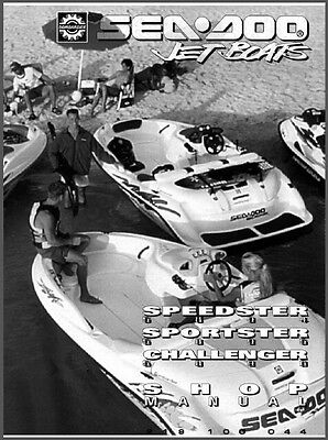 1996 Sea-Doo Sportster Challenger Speedster Jet Boat Service Repair Shop Manual