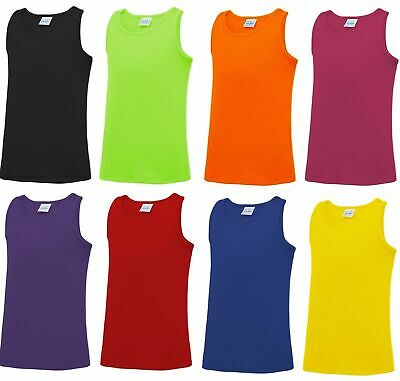 Kids Girls  Muscle Racer Back Tank Top With Legging SET Age 7-13 Years
