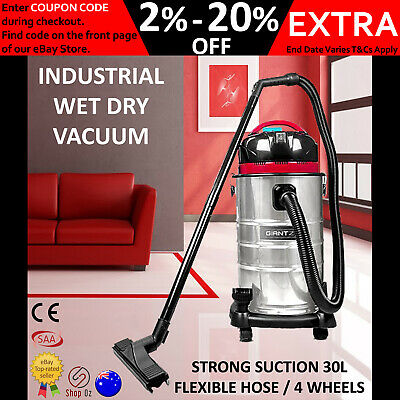 New INDUSTRIAL VACUUM CLEANER COMMERCIAL WET DRY Bagless Vaccum Handheld Blower