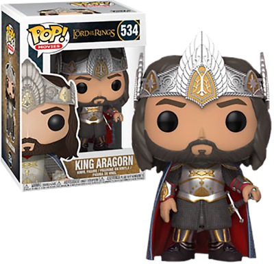 FUNKO POP! Lord of the Rings - King Aragorn - Limited