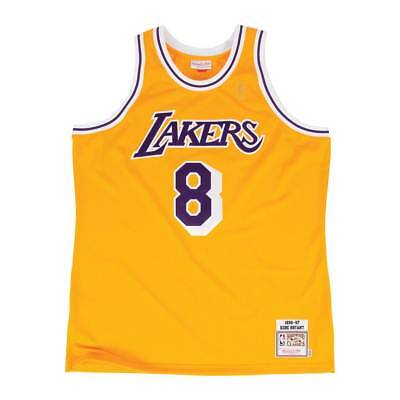 Mitchell & Ness Kobe Bryant #8 Los Angeles Lakers 1996-97 Authentic NBA Trikot