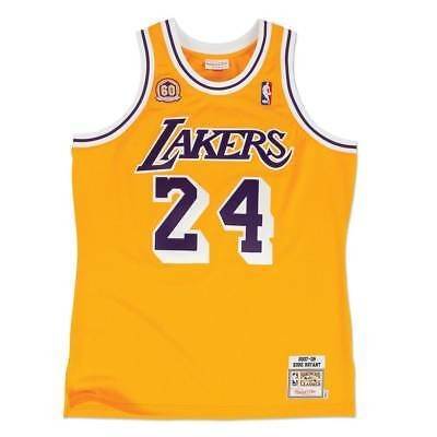 Mitchell & Ness Kobe Bryant #24 Los Angeles Lakers 2007-08 Authentic NBA Trikot
