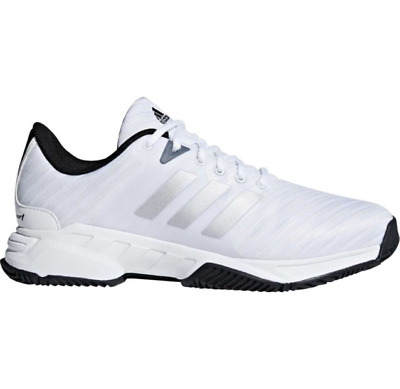 Mens Adidas Barricade Court 3 Wide White Sport Tennis Athletic Shoes CM7817 9-13