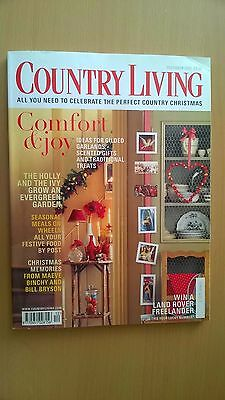 Country Living Magazine, December 2000, Home, Comfort & Joy