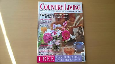 Country Living Magazine, August 2000, Decorating Details
