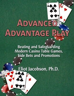 Advanced Advantage Play by Eliot Jacobson -- Blackjack, Baccarat, Card Counting