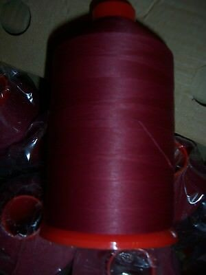 Glace Sewing Thread - Wine/Red - 10 x 7000mtr - Ticket 75 thread on King Cones