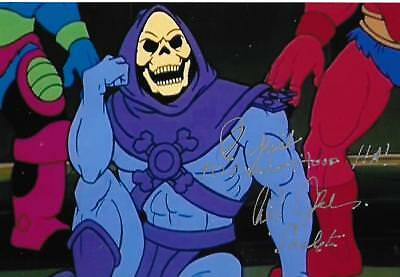 Alan Oppenheimer autograph Skeletor Smurfs Merman Legend Actor Rare LOOK!