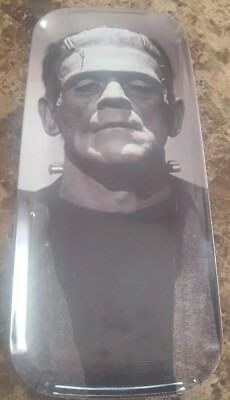 Frankenstein collectible platter malamine 15 inches by 6.5 inches