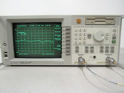 HP Hewlett Packard Agilent 8714B 300 kHz ~ 3 GHz Vector Network Analyzer