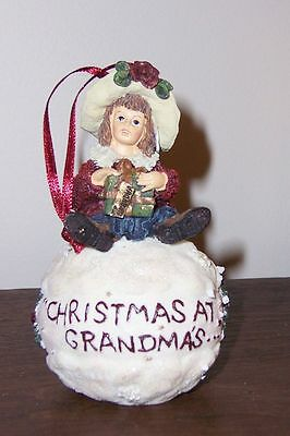 #25858 Shannon - Tree Ornament - Boyds Yesterday's Child Dollstone Collection
