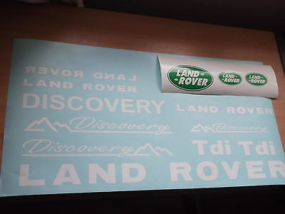 Land Rover DISCOVERY Sticker set Vinyl Decal  Discovery 90 110 TD5