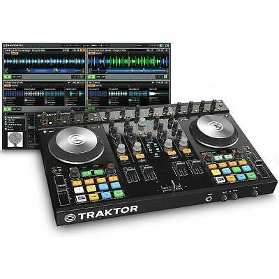 RRP £569.99 Native Instruments Tractor Kontrol S4 4 Channel All In One DJ System