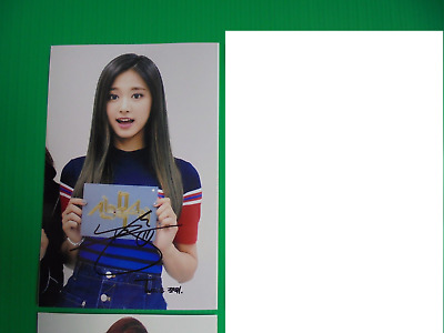 Twice Tzuyu 4x6 Photo Korean autograph signed USA Seller KPOP 39