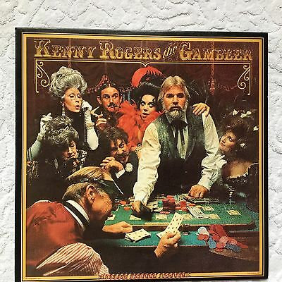 LP   Kenny Rogers – The Gambler US First pressing With Poster