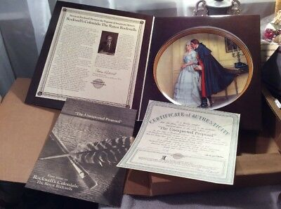 Norman Rockwell Colonial : The rarest Rockwells 1 st Plate In Box