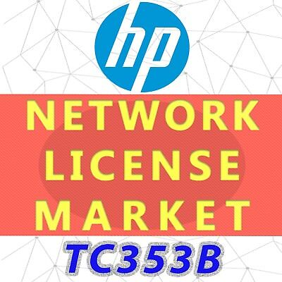 HP TC353B  SAN Network Adv Pro Plus SW E-LTU : B Series Switch