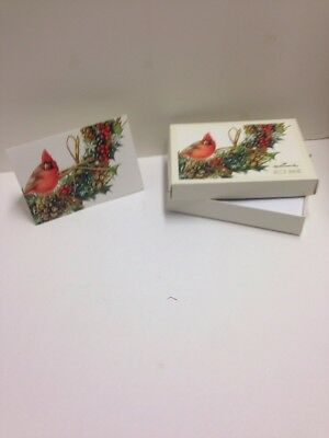 Marjolein Bastin Christmas Cards Cardinal  Nature's Sketchbook NEW Box of 12