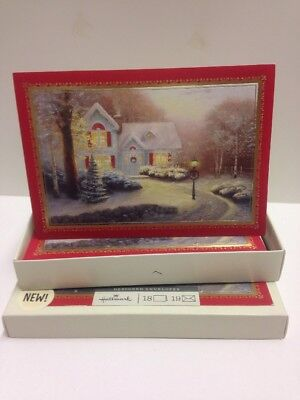 Box of Hallmark Christmas Cards 2011 Illustrated by Thomas Kinkade