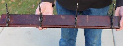 Antique Victorian Wall Coat Rack Circa 1900