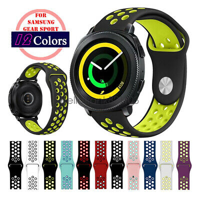 Replacement Bracelet 20mm Silicone Sport Watch Band Strap For Samsung Gear Sport