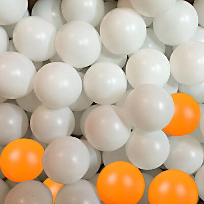 150/300X 40mm Table Tennis Balls Plastic Ping Pong Replacement Practice Sport AU