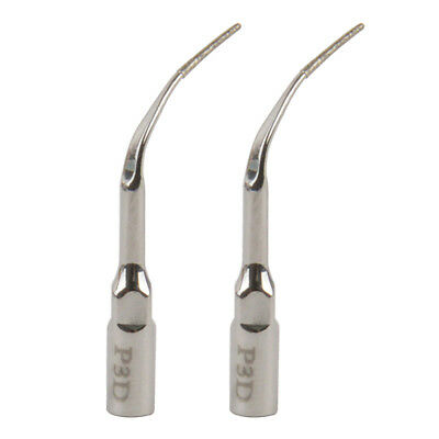 2Pcs Dental Periodontal Flap Surgery Scaler Tip P3D fit EMS & Woodpecker Scaler