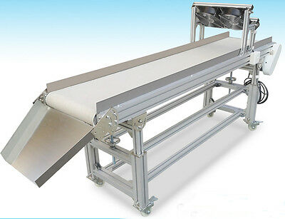 Packaging Supply:Conveyor,Heat Resistant Canvas Conveyor,110V,120W&Cooling Fan