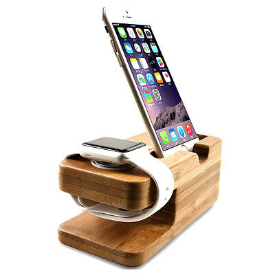 New Stalion Stand Desktop Charging Dock for iPhone 5/6/7/8/X Apple Watch iWatch
