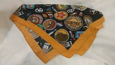 Amoco Satin Neckerchief Oil and Gas Kay and Cree Amoco Licensed Product