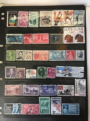 stamps  United  States - Used -  Lot 413