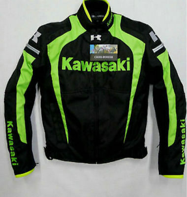 Men's racing jacket KAWASAKI Winter automobile race clothing motorcycle clothes